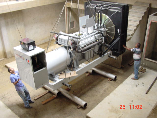 Supply and installation of two (02) 1500 Kw MTU 1500 Generators