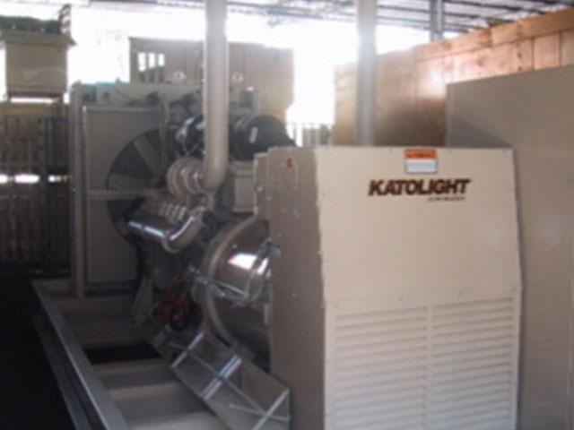 Supply of 500 Kva diesel generators