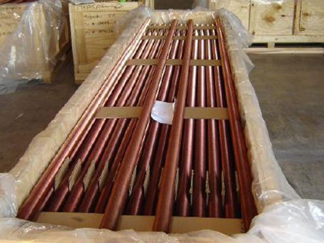 Supply of 5000 Cu-Ni finned tubes for chillers